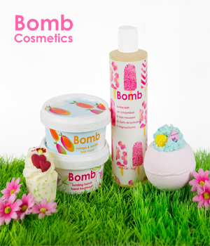 WIN a Hamper full of Bomb Cosmetic Goodies!