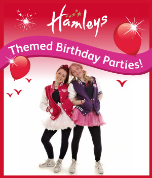 WIN a Luvley Birthday Party at Hamleys!