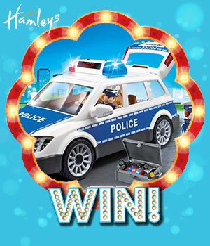 WIN THE ENTIRE PLAYMOBIL POLICE RANGE!