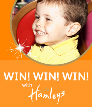 WIN WIN WIN with Hamleys Glasgow!